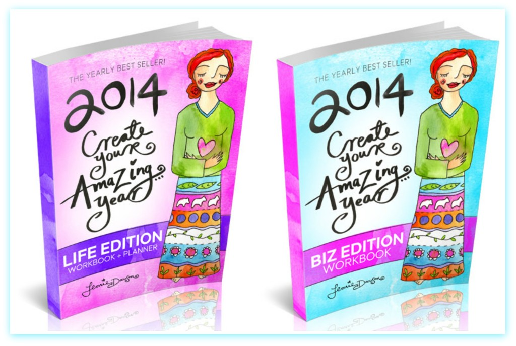 2014 Create Your Amazing Year Life and Business Workbooks _ bernettaStyle.com