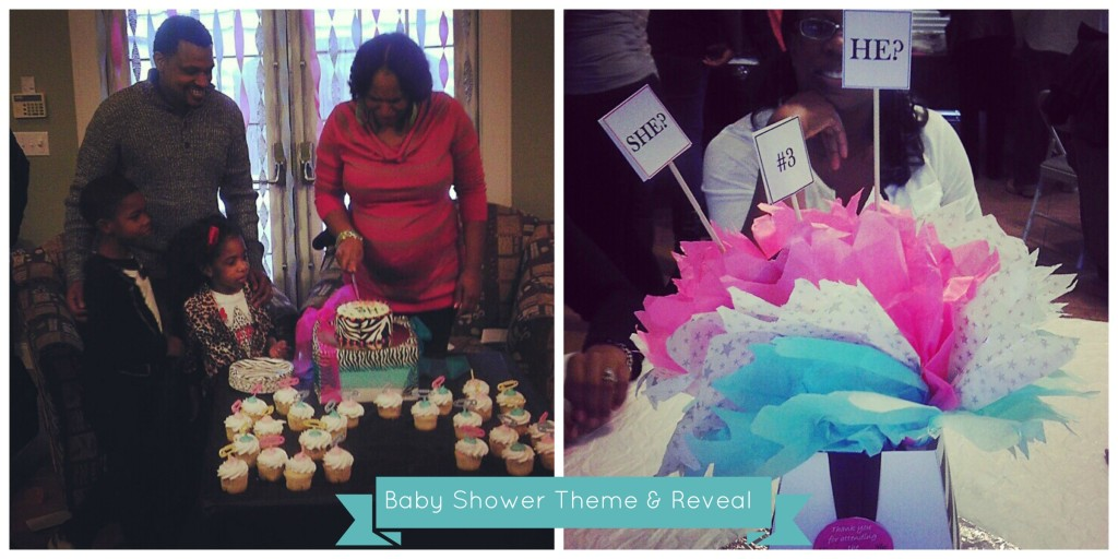 Baby Shower Reveal-Bernettastyle