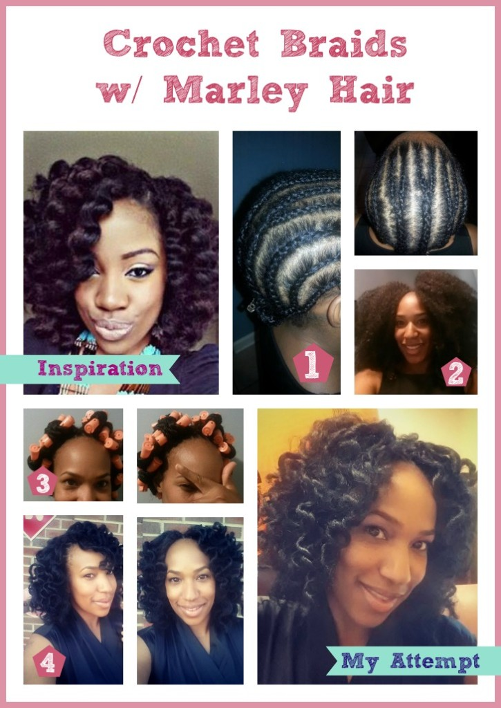 Crochet Braids Austin : Crochet Braids with Marley Hair