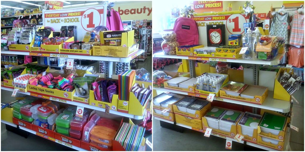 Back-To-School Supplies Stocked at Family Dollar
