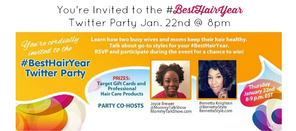 Twitter Party #BestHairYear