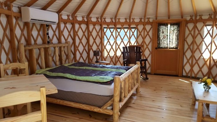 Stone Mountains New Yurts Are Now Open for Camping