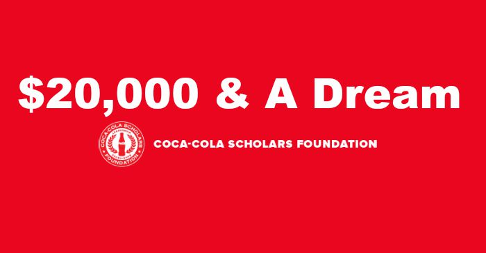 Apply for Coca-Cola Scholars Program Scholarship 2017