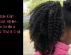 Natural Hair on Little Girls How to
