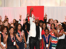ATLANTA, GA - JULY 24:  Singer/actor Tyrese Gibson (C) on stage at Coca-Cola Pay It Forward Academy Keynote Session And Scholarship Program at Intercontinental Buckhead on July 24, 2016 in Atlanta, Georgia.  (Photo by Paras Griffin/Getty Images for Coca Cola)