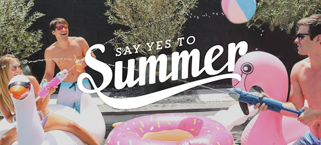 say yes to the summer