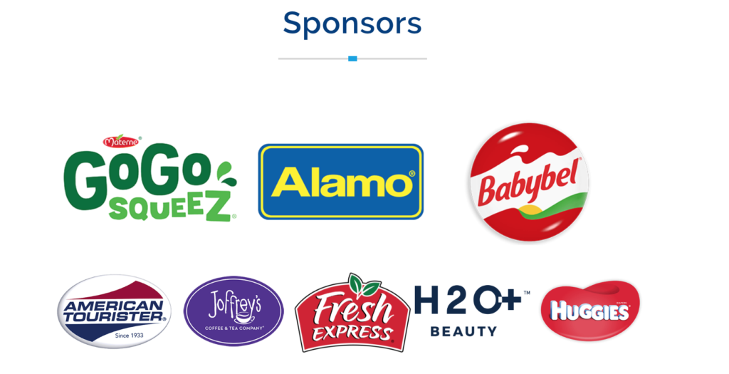Disney Social Media Moms Celebration Sponsors