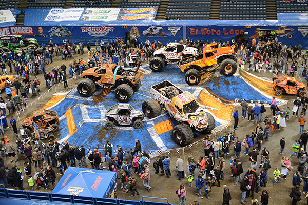 Pit Party Monster Truck